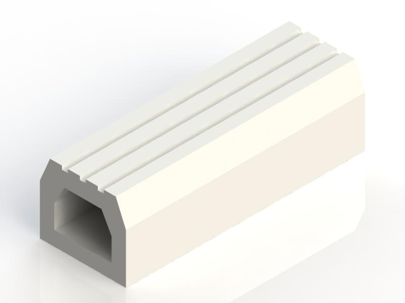 P105E silicone profile