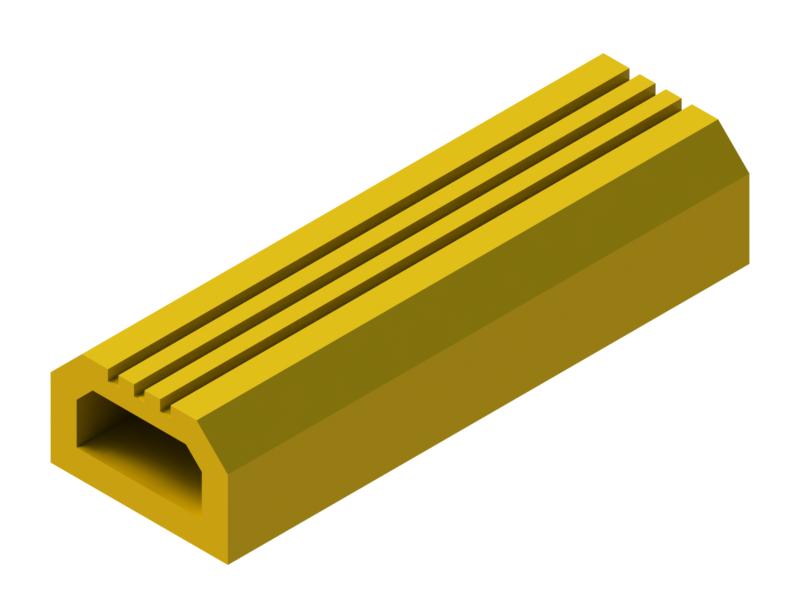 P37L silicone profile